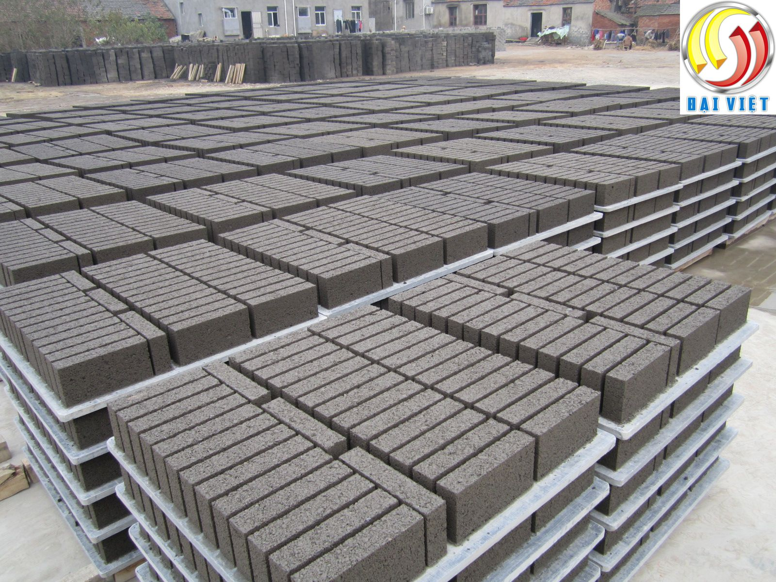 gạch block không nung xi măng cốt liệu