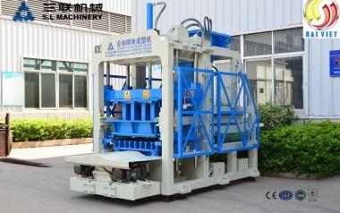 Máy đóng gạch không nung qt6-15, dây chuyền sản xuất gạch không nung qt6