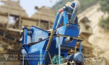 cơ cấu thận thu cát hạt mịn