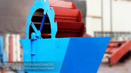 máy rửa cát nhân tạo hệ bánh xe