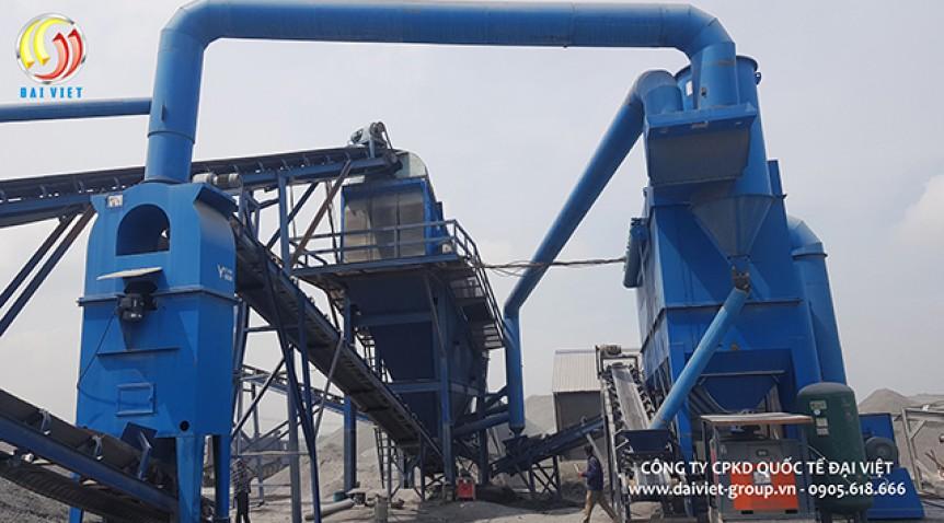 Các thiết bị phụ trợ trong việc sản xuất đá gồm những gì?